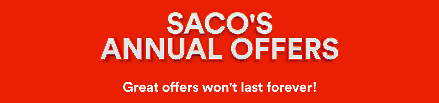 SACO Annual Offers